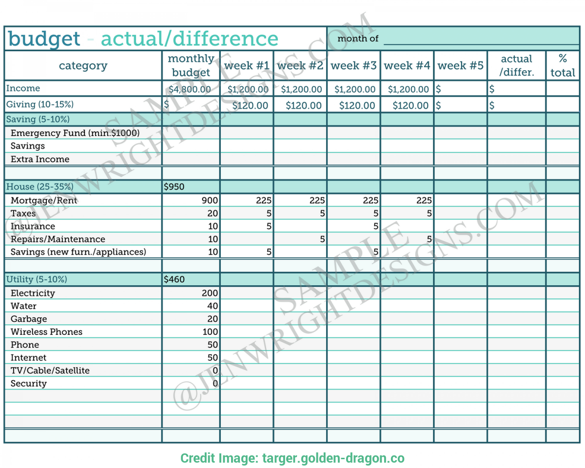 Beauty Salon Budget Spreadsheet Spreadsheet Downloa Beauty