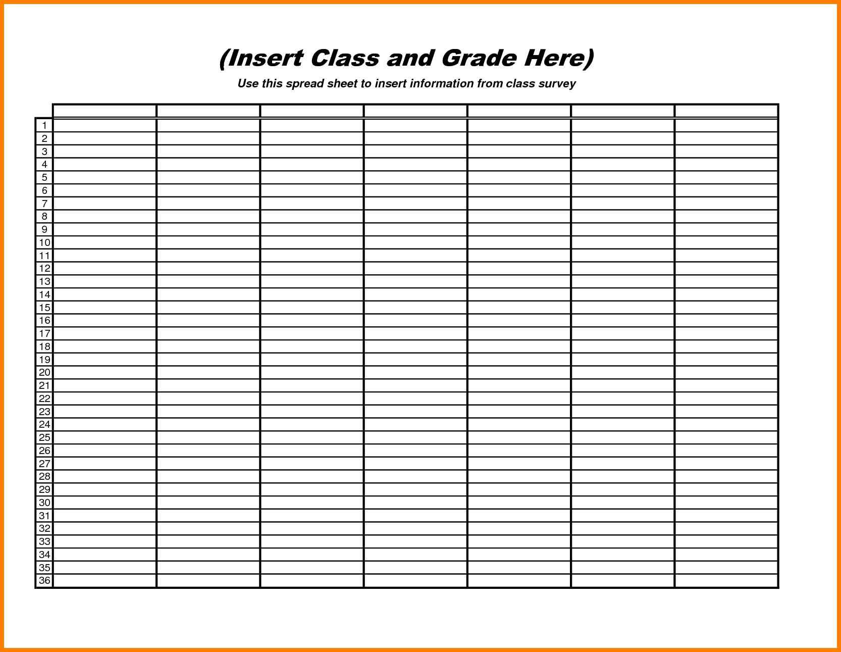 Blank Spreadsheet Template Inside 10 Excel Spreadsheet