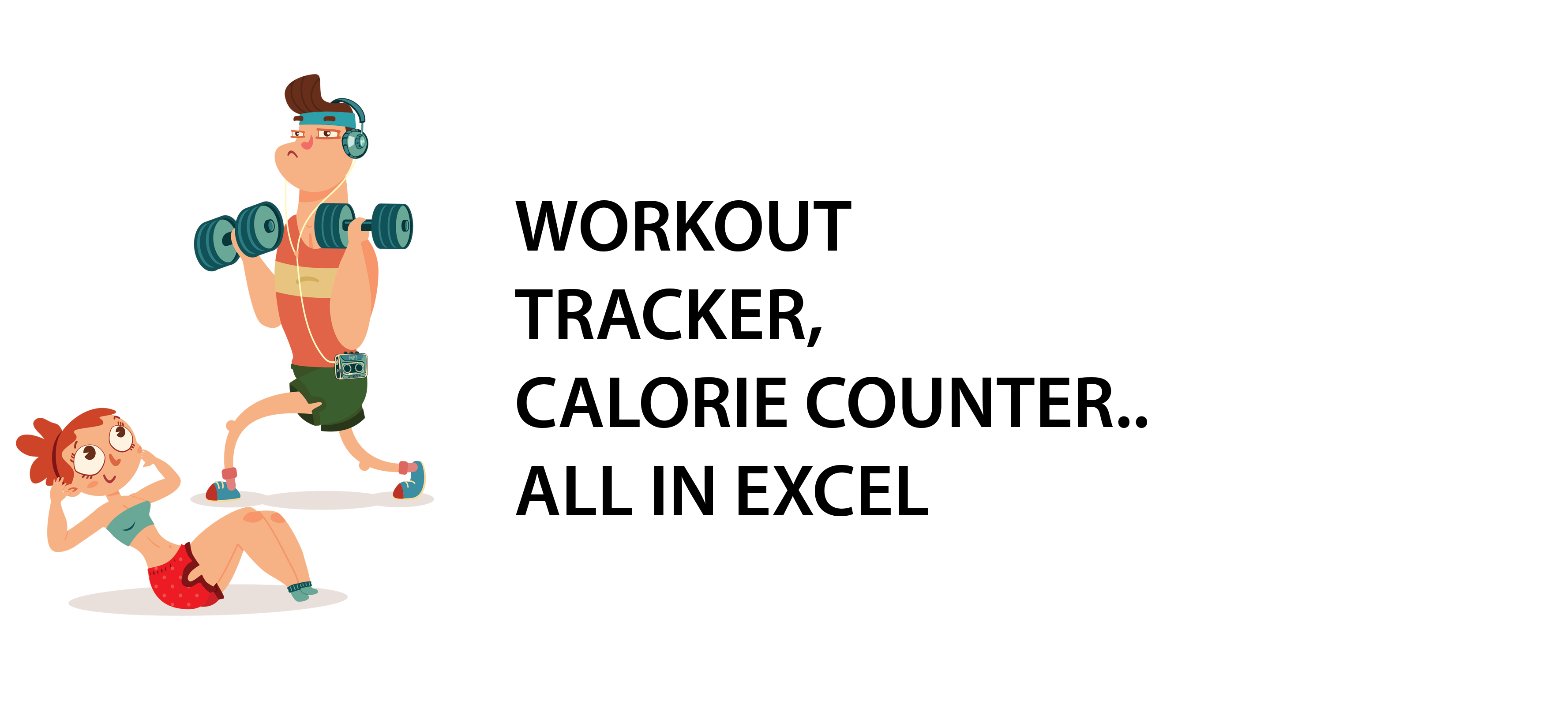 Calorie Intake Spreadsheet Inside Workout Tracker Calorie