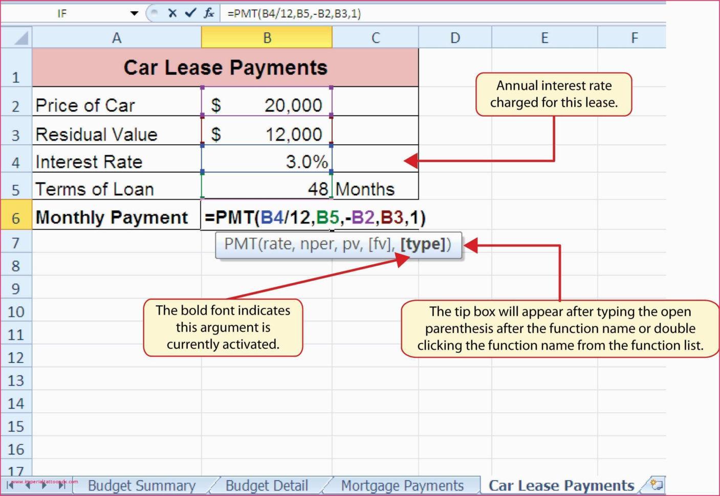 Car Buy Vs Lease Spreadsheet Regarding Auto Lease