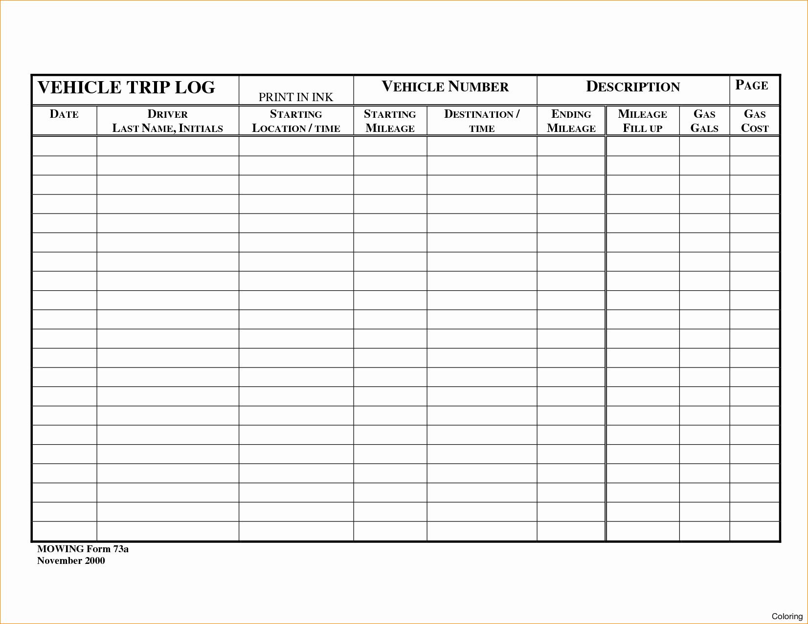 Car Restoration Worksheet