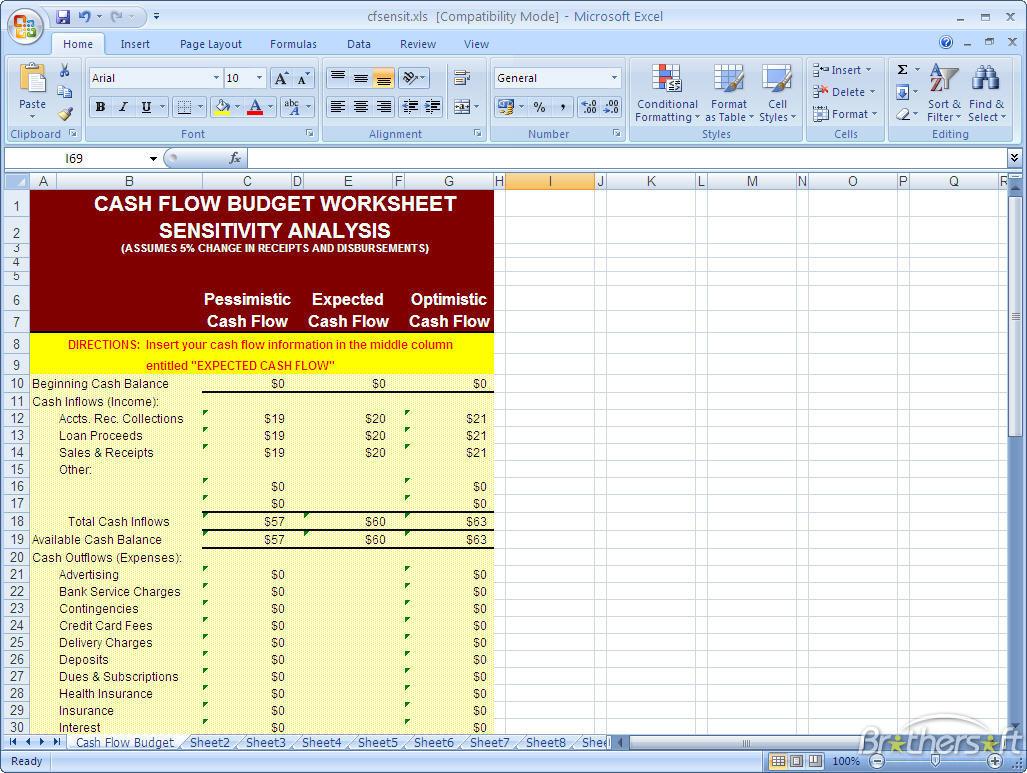 Cashflow Game Spreadsheet With Regard To Download Free