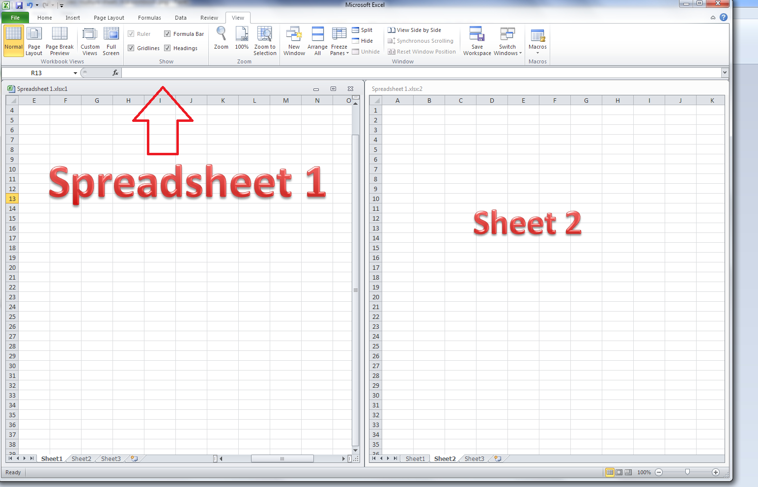Comparing Two Worksheet In Excel