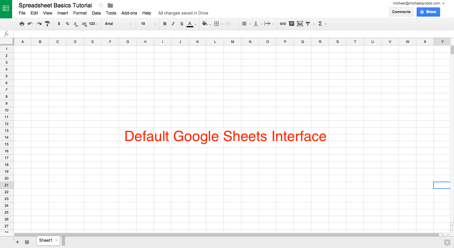 Create Doc Spreadsheet In Sheets 101 The