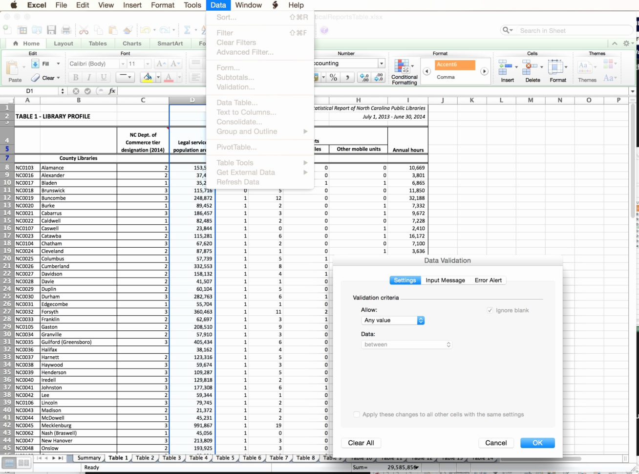 Different Types Of Spreadsheet Software Programs In Use