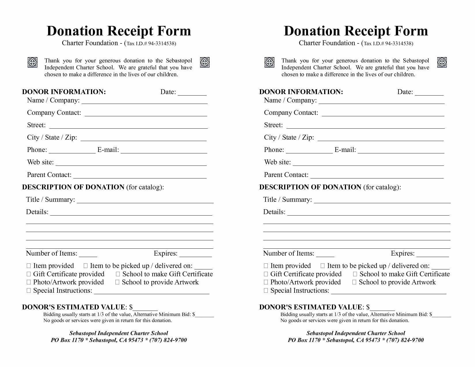 Donation Calculator Spreadsheet With Goodwill Donation