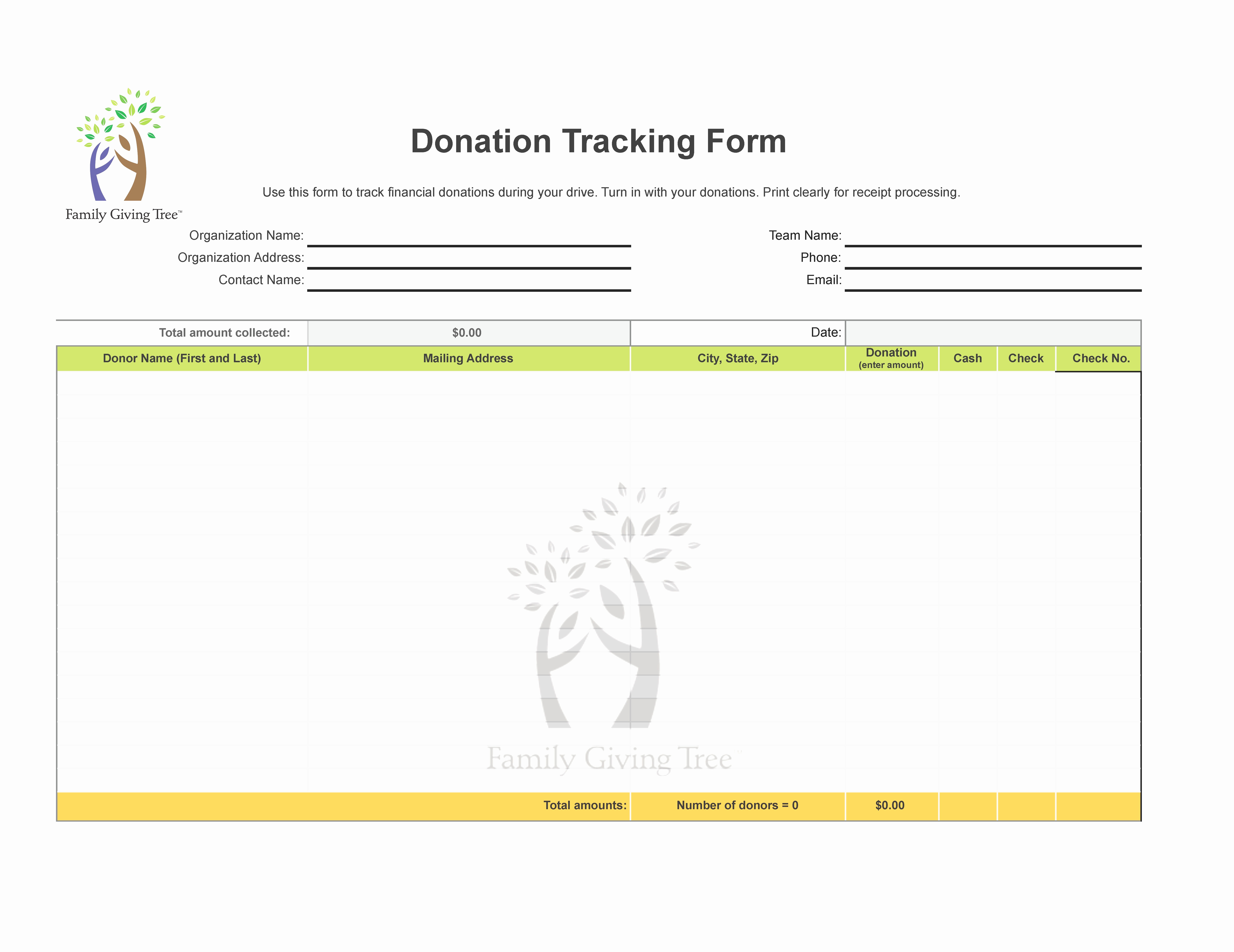 Donation Value Guide Spreadsheet For Irs Donation