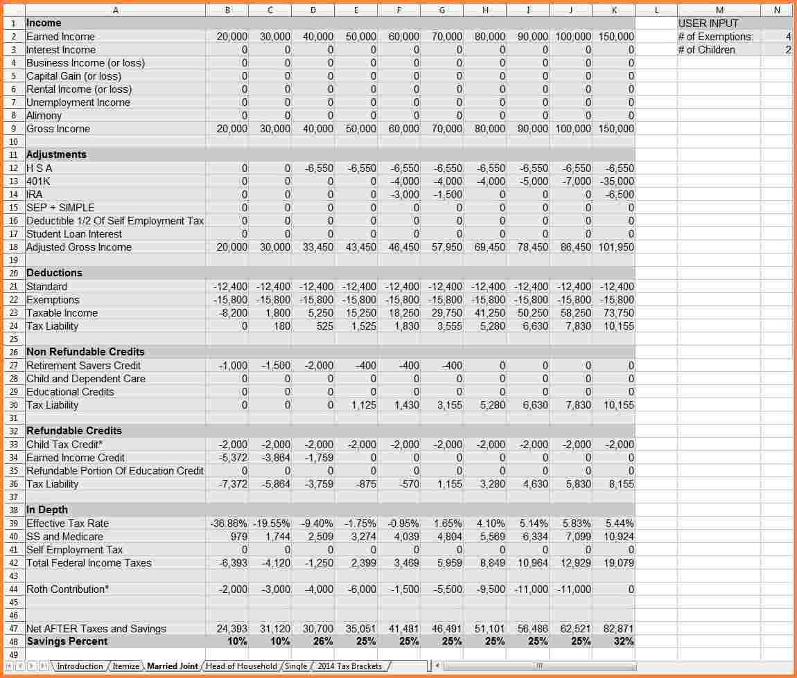 Early Retirement Spreadsheet In The Early Retirement