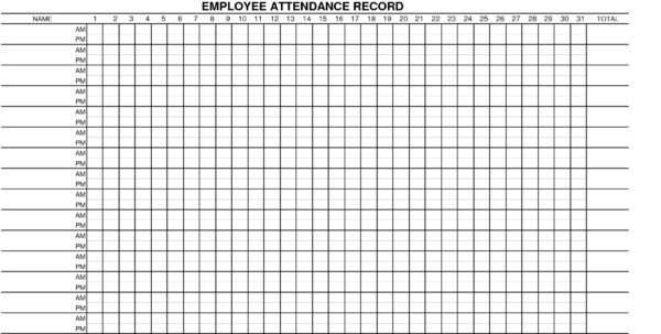 Employee Annual Leave Record Spreadsheet Google Spreadshee