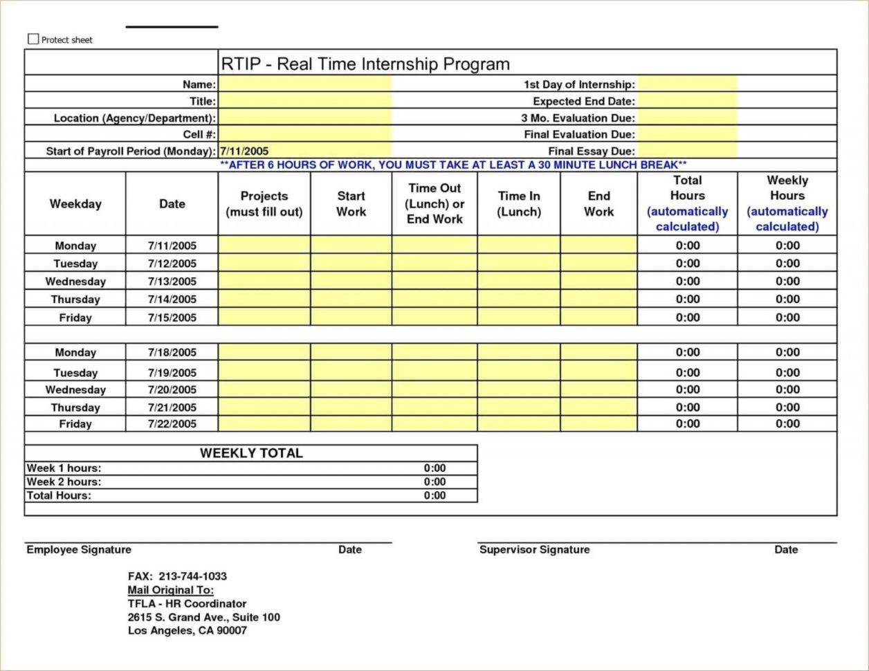 Employee Hours Tracking Spreadsheet Spreadsheet Downloa Employee Hour Tracking Template
