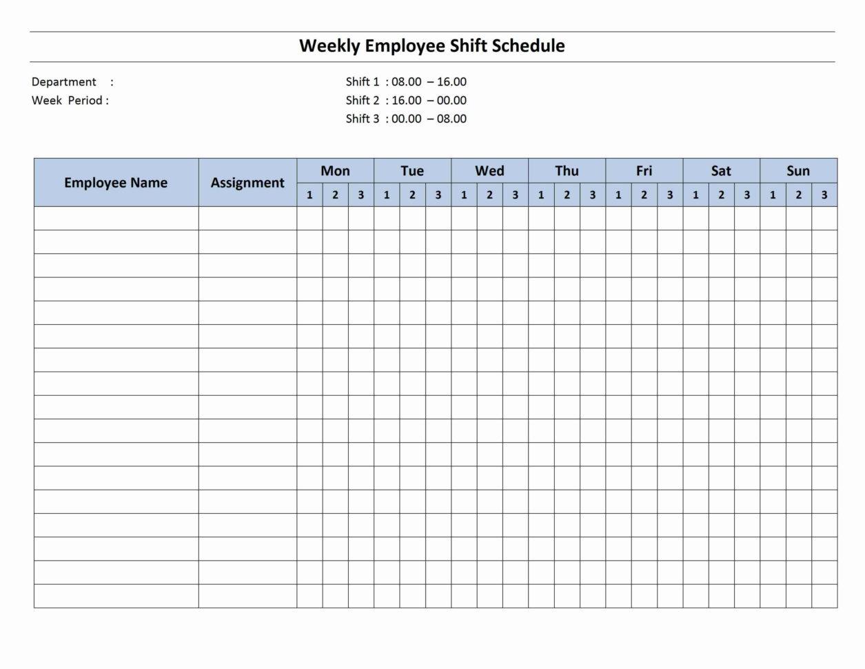 Employee Scheduling Spreadsheet Inside Employee Schedule