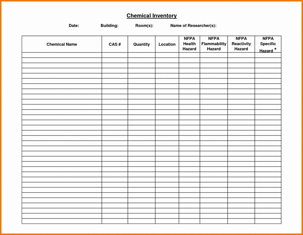 Estate Inventory Spreadsheet With Probate Accounting