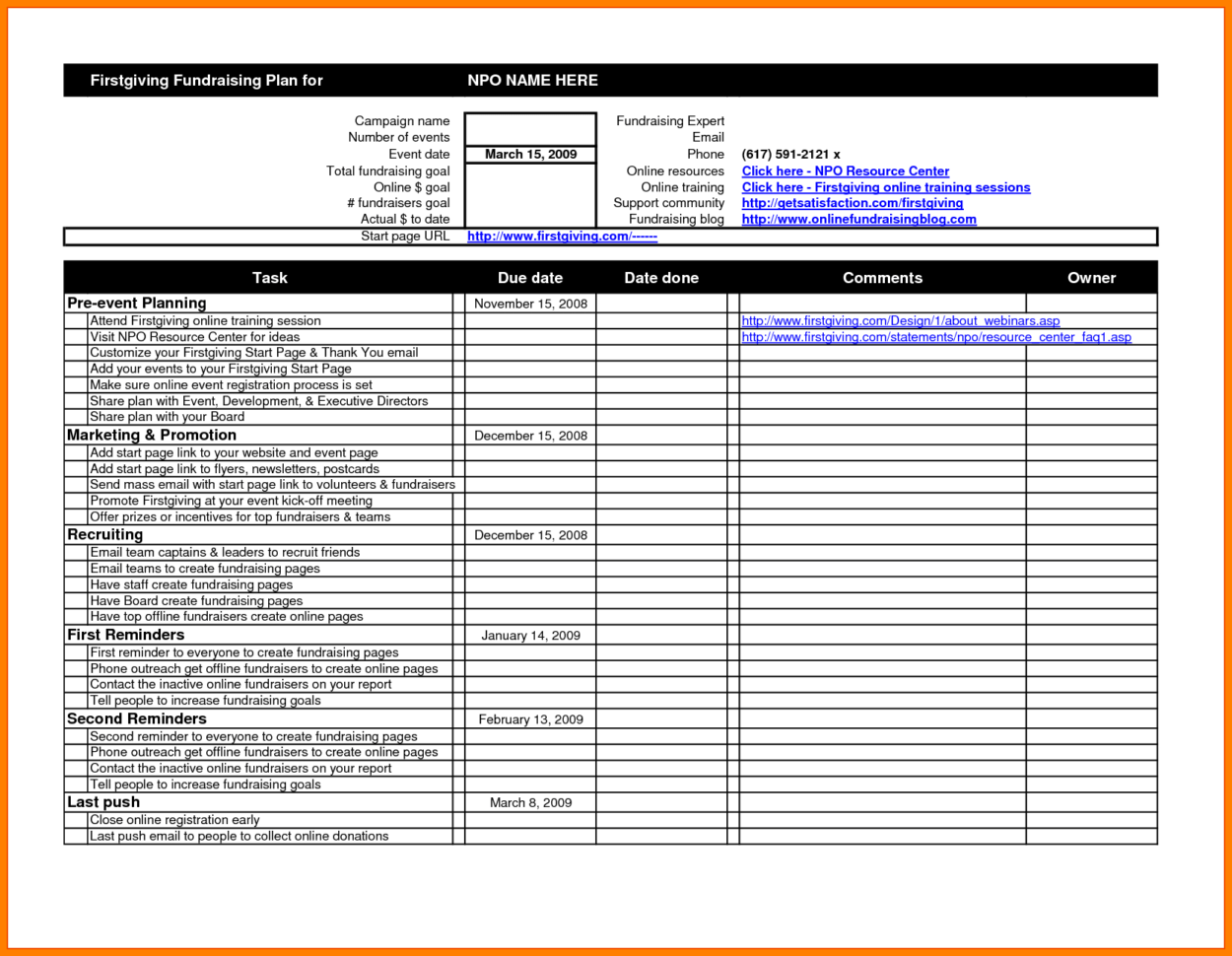 Event Registration Spreadsheet Template Spreadshee