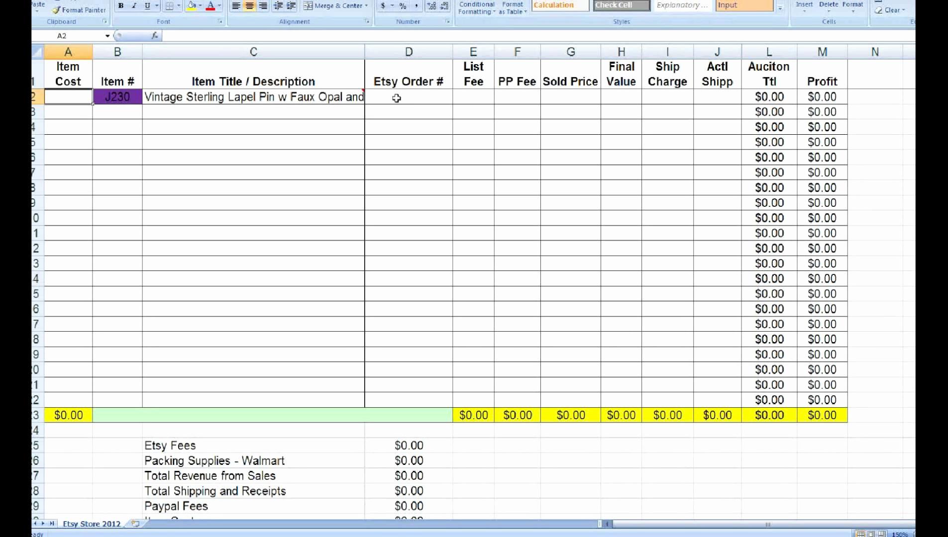 Excel Spreadsheet Basics In Excel Spreadsheet Basics My