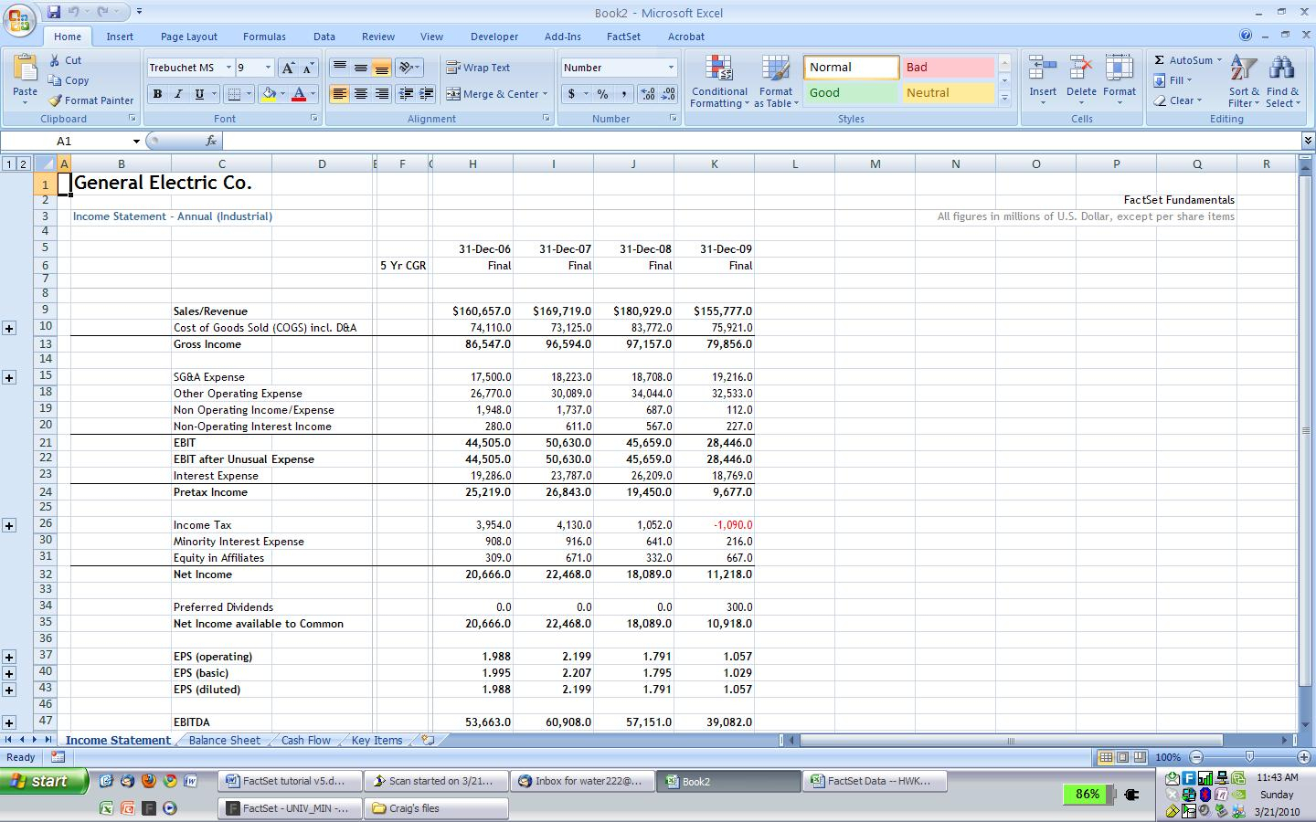 Excel Spreadsheet Financial Statement Printable Spreadshee