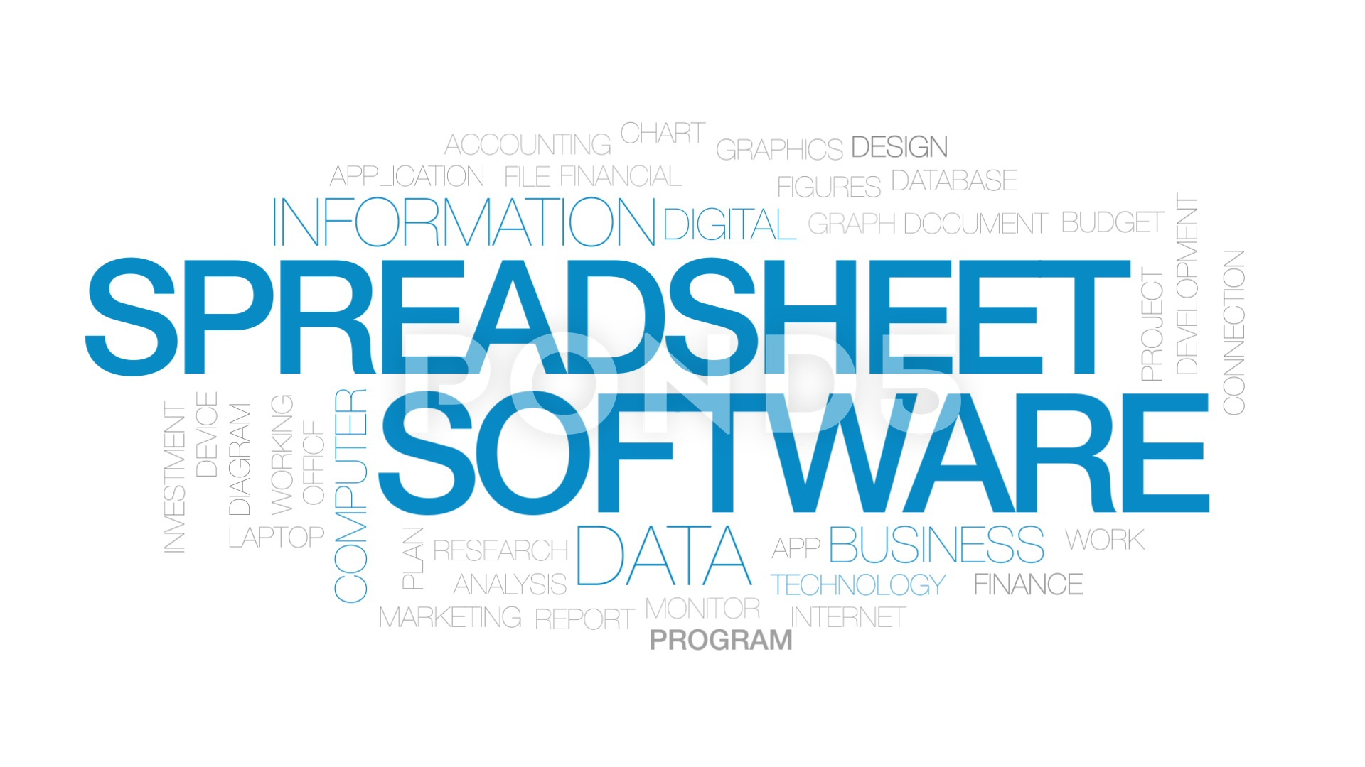 Excel Spreadsheet Online Database Pertaining To Word Cloud
