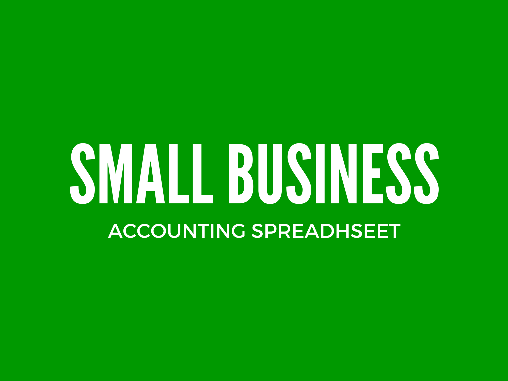 Excel Spreadsheet Template For Small Business Expenses
