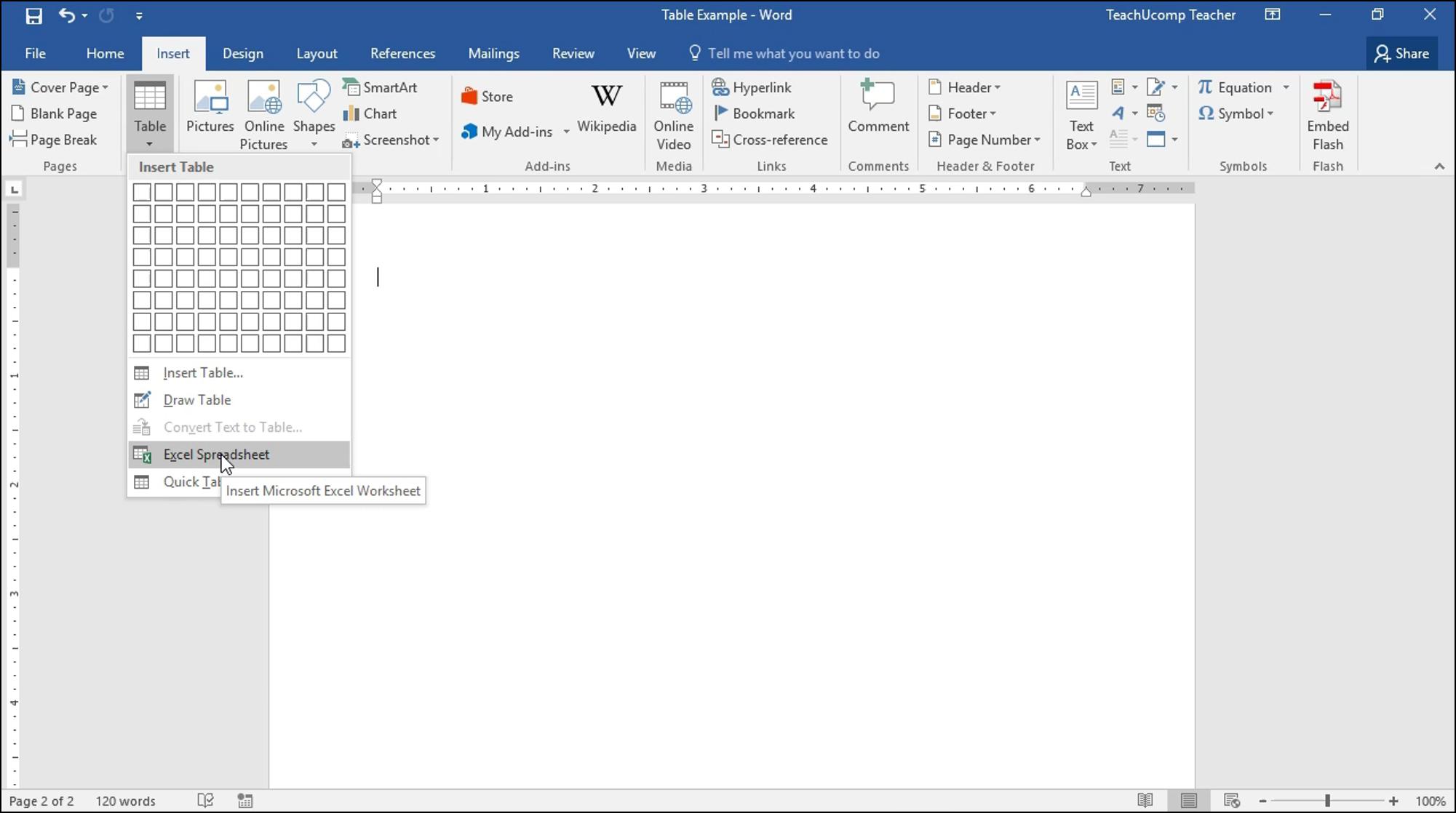 Excel Spreadsheet Worksheet Inside Insert An Excel