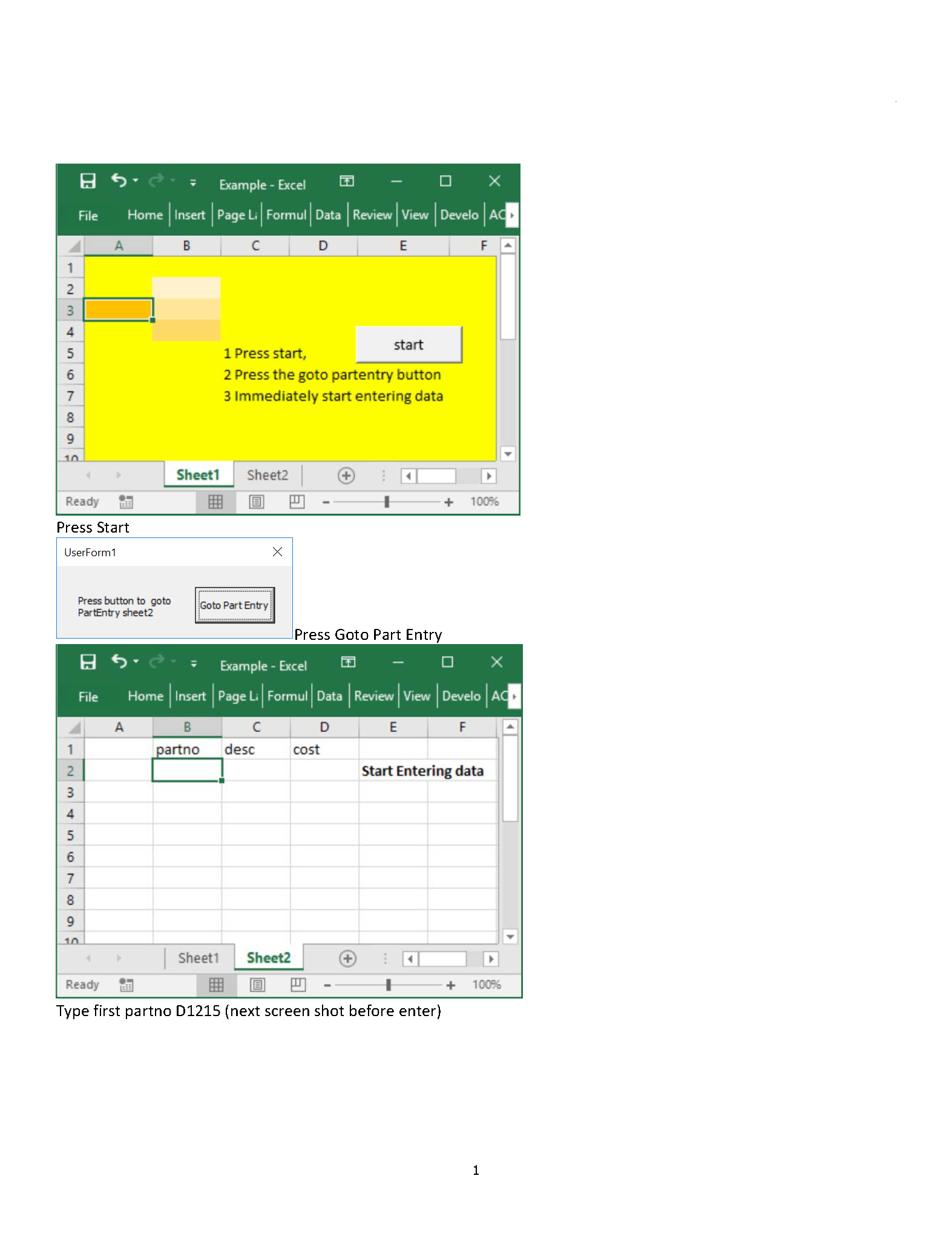 Excel Vba Spreadsheet In Userform Within Excel Vba