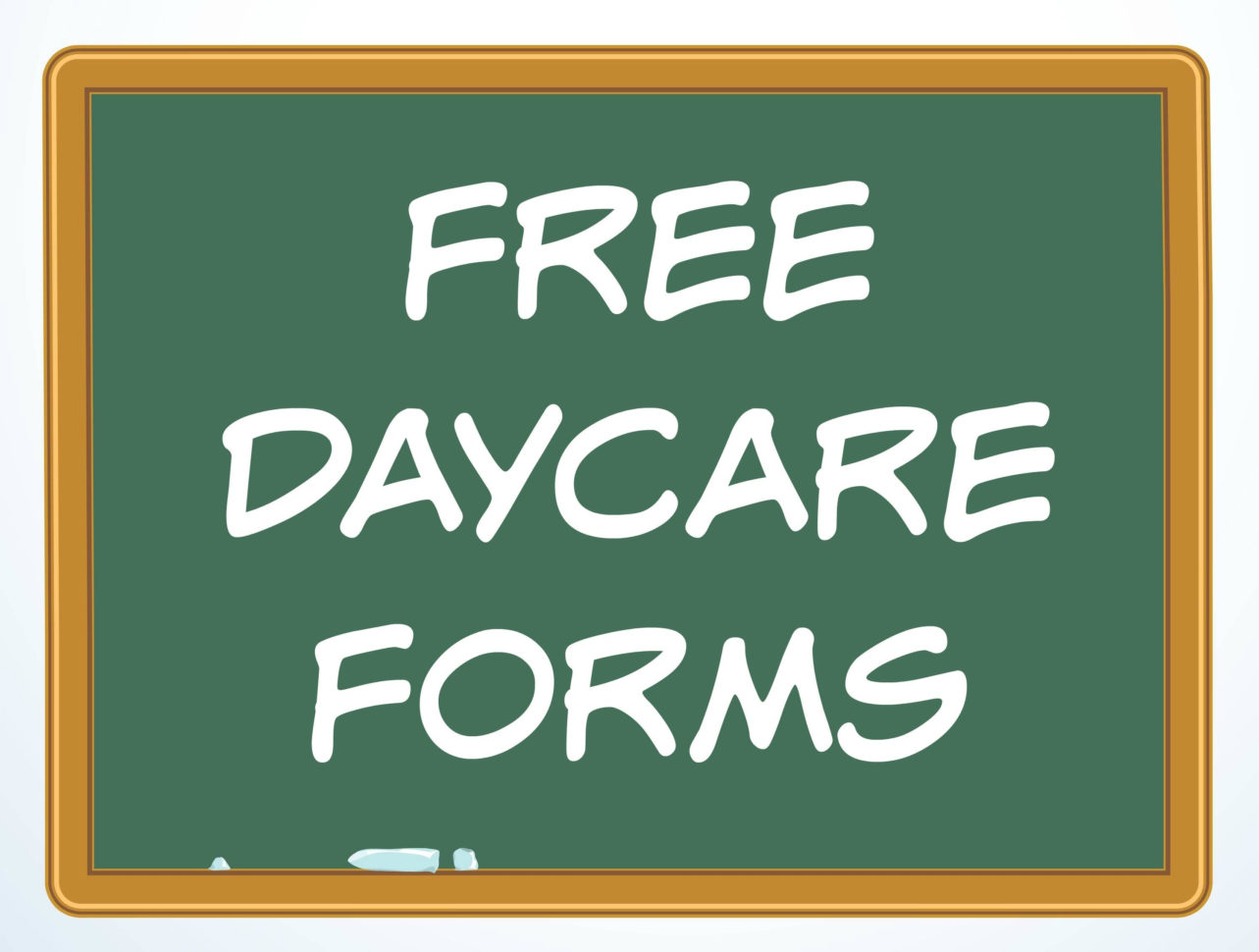 Family Day Care Tax Spreadsheet In Free Daycare Forms And