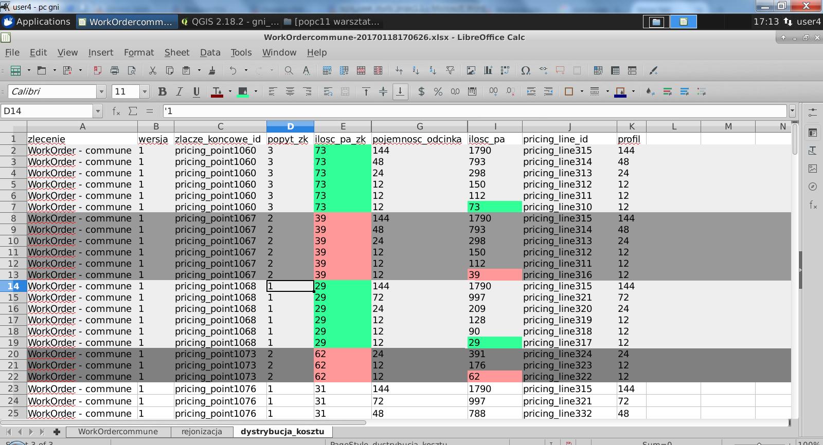 Fiber Optic Spreadsheet Db Excel