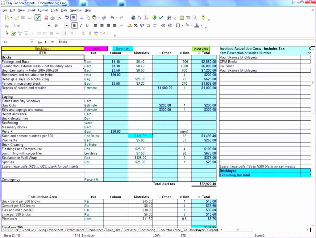 Food Storage Inventory Excel Spreadsheet Spreadshee