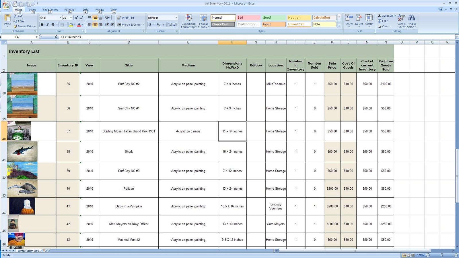 Free Excel Stock Tracking Spreadsheet Spreadsheet Downloa