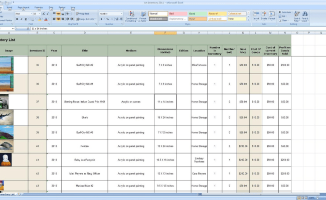 Free Inventory Management Software In Excel Inventory