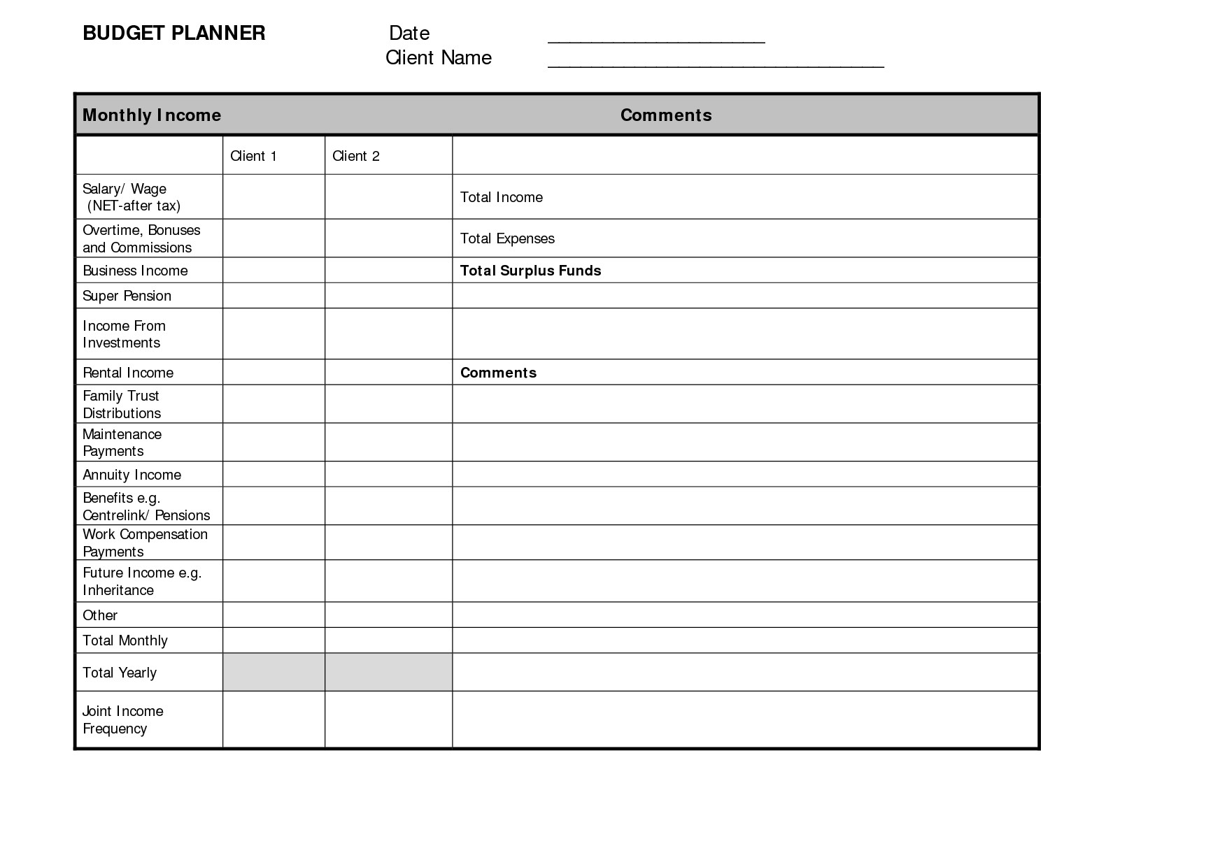 Free Online Budget Spreadsheet For Free Online Budget