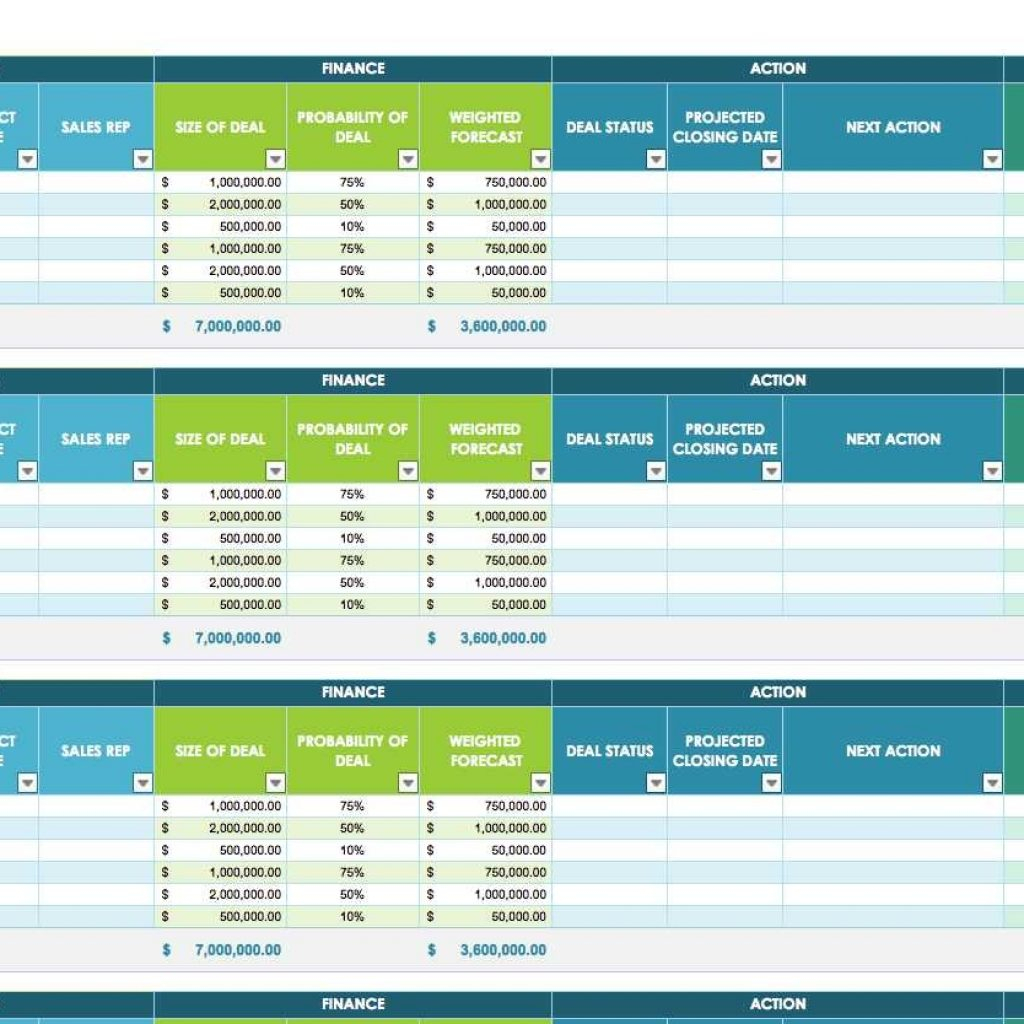 Free Sales Activity Tracking Spreadsheet With Free Sales