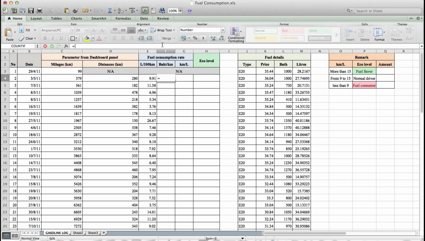 Fuel Spreadsheet Printable Spreadshee Fuel Spreadsheet Log Fuel Spreadsheet Fuel Spreadsheet