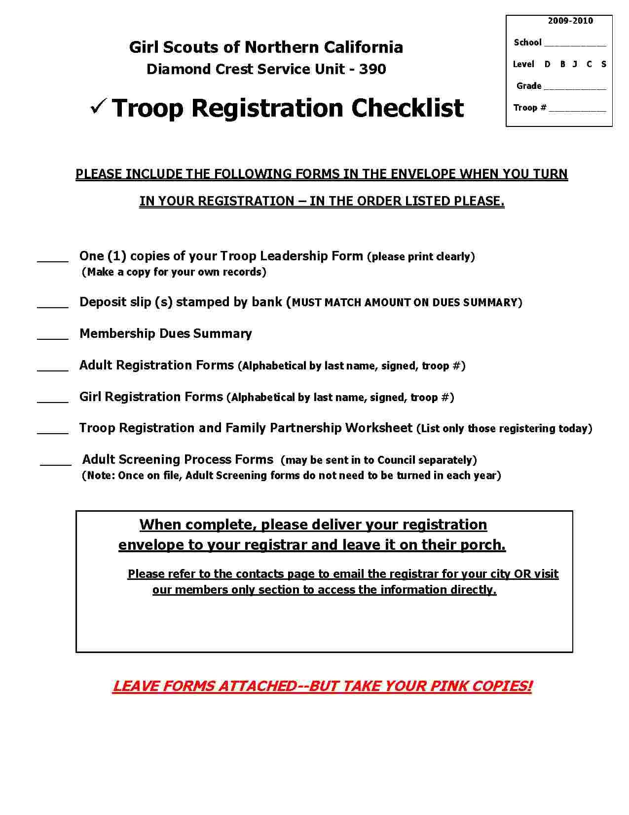 Girl Scout Troop Finance Spreadsheet Spreadshee