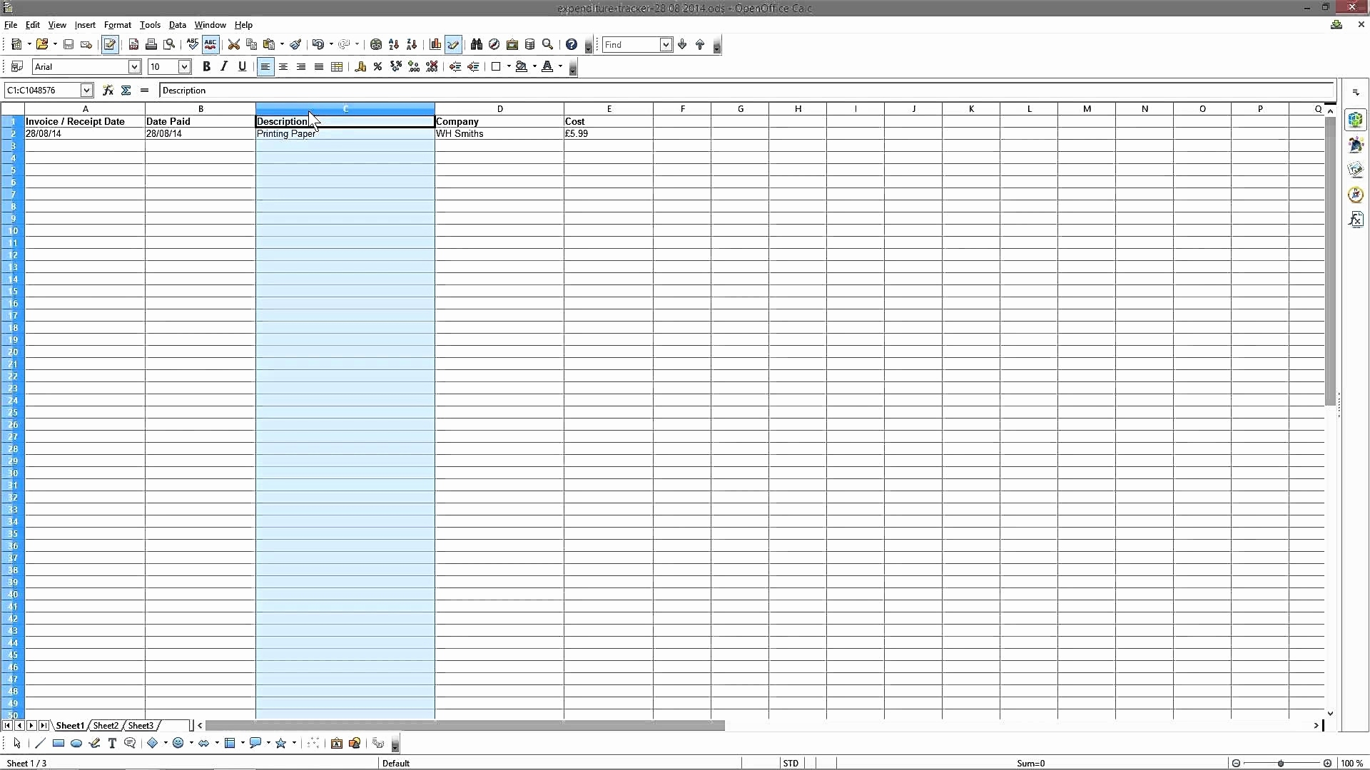 Grant Tracking Spreadsheet Excel Throughout Grant Tracking