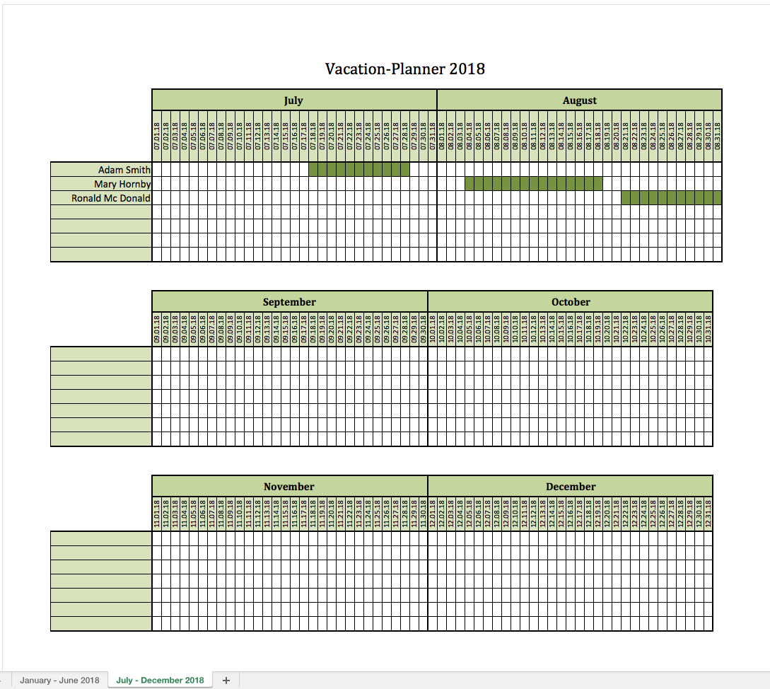 Holiday Spreadsheet Template Spreadshee Staff Holiday Spreadsheet Template