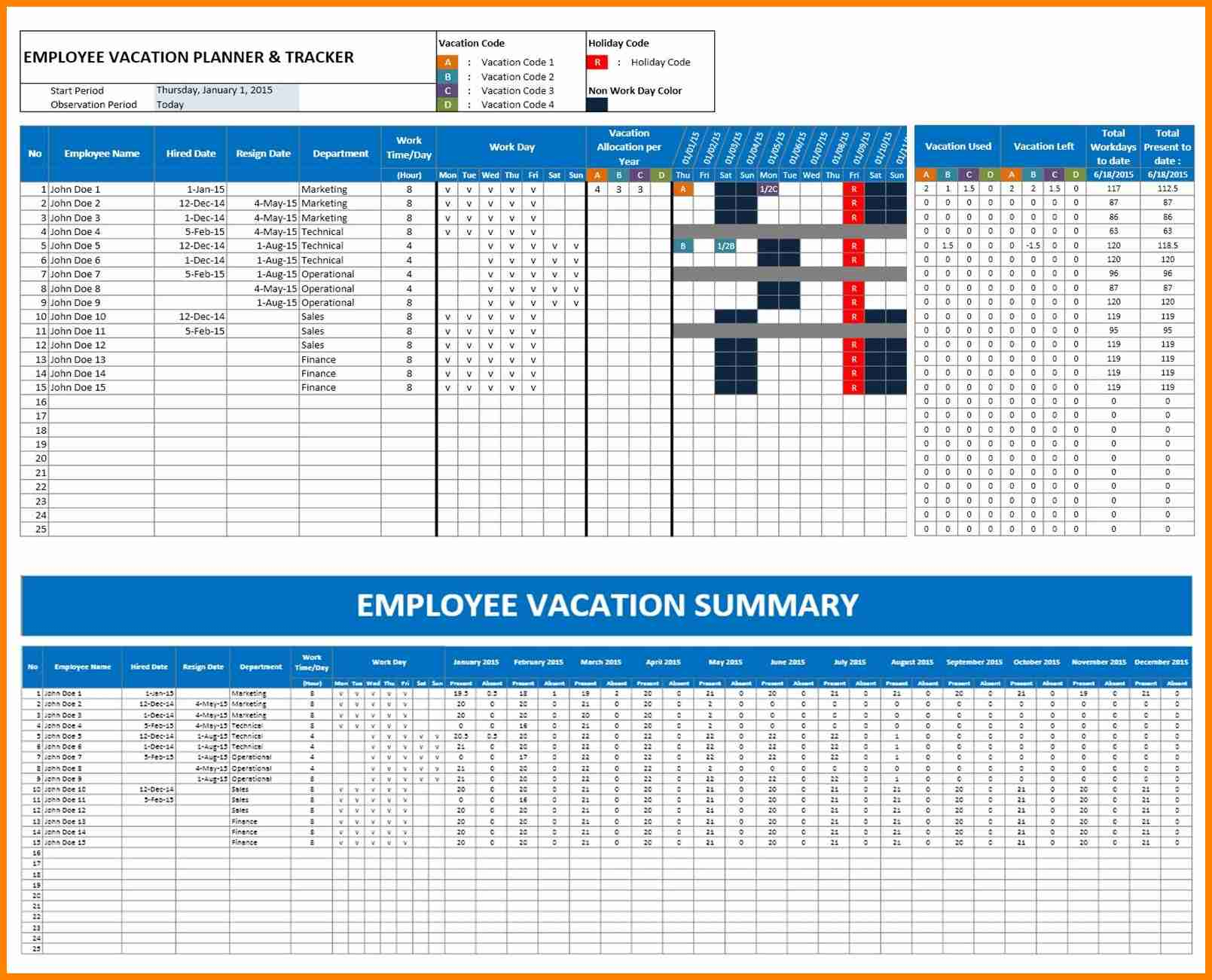 Holiday Tracking Spreadsheet Spreadsheet Downloa Holiday Tracking Spreadsheet