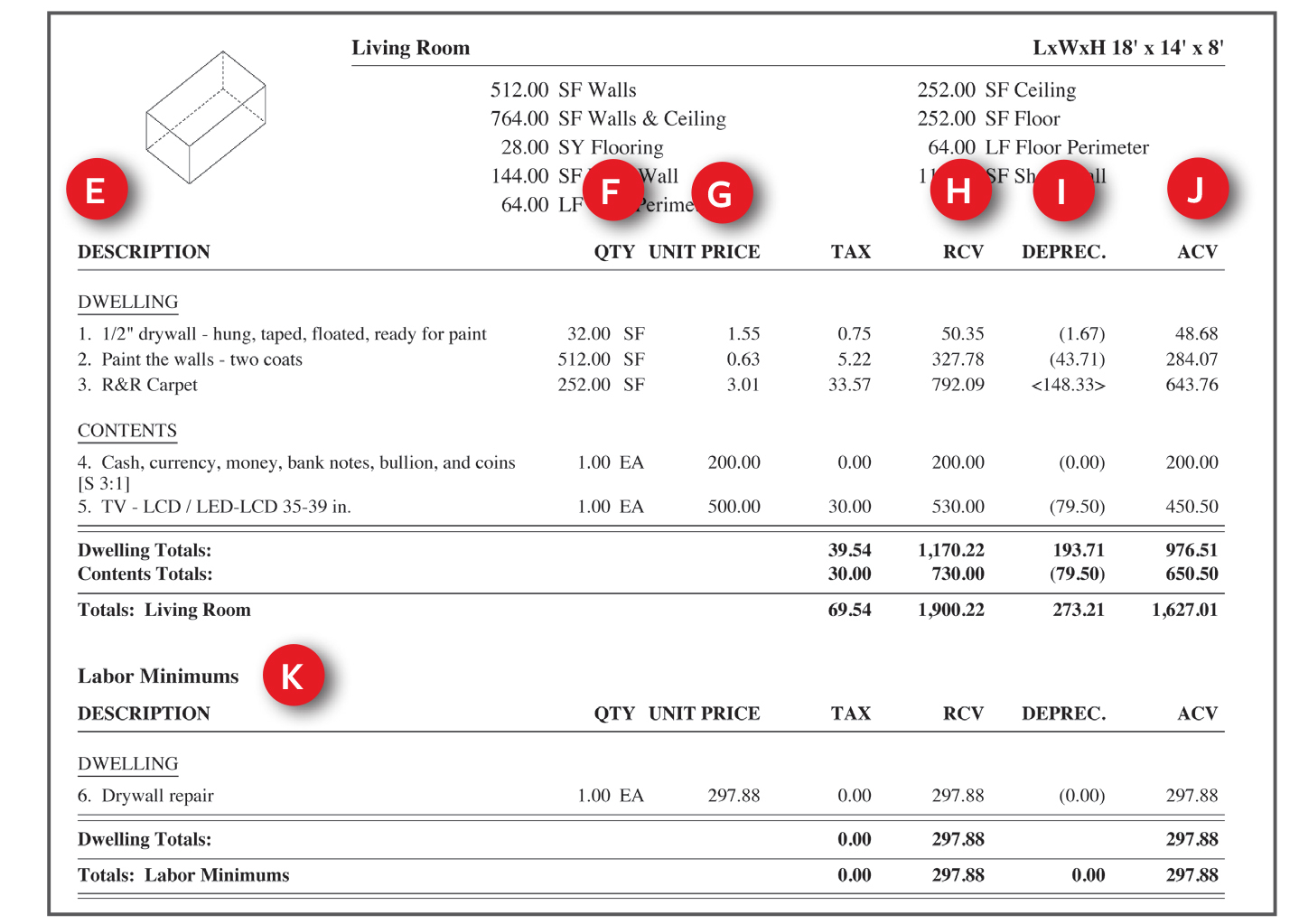 Home Contents Insurance Calculator Spreadsheet With Regard