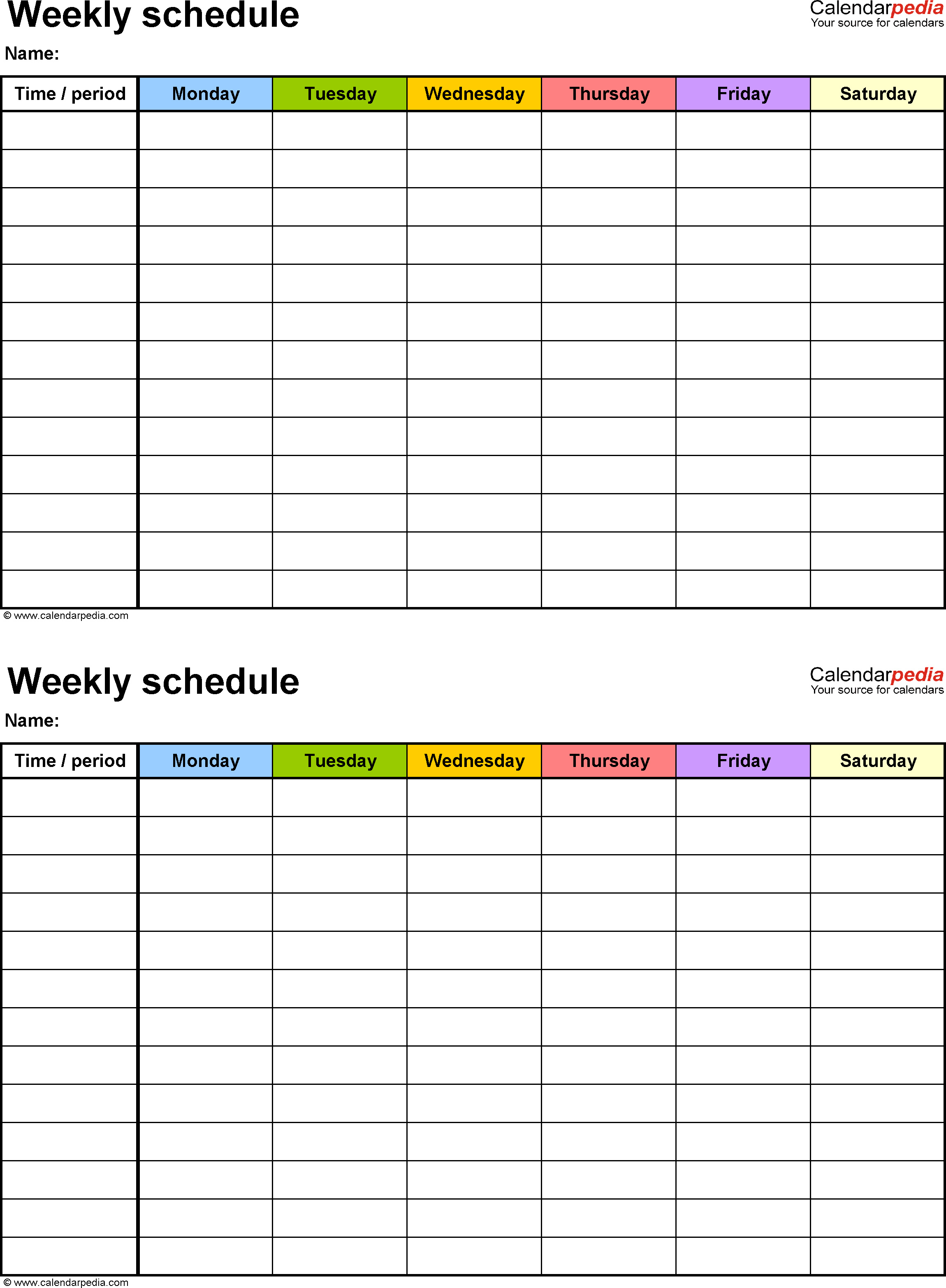 Hourly Spreadsheet