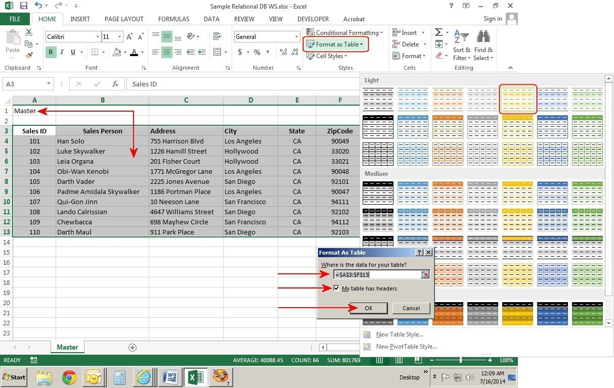 How To Create A Simple Excel Spreadsheet Db Excel