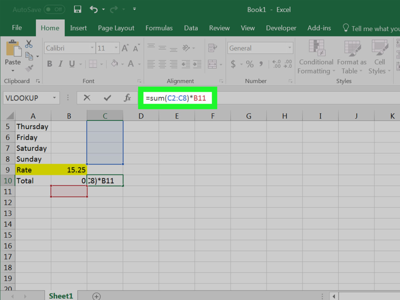 How To Do Spreadsheet Formulas Inside 4 Ways To Calculate