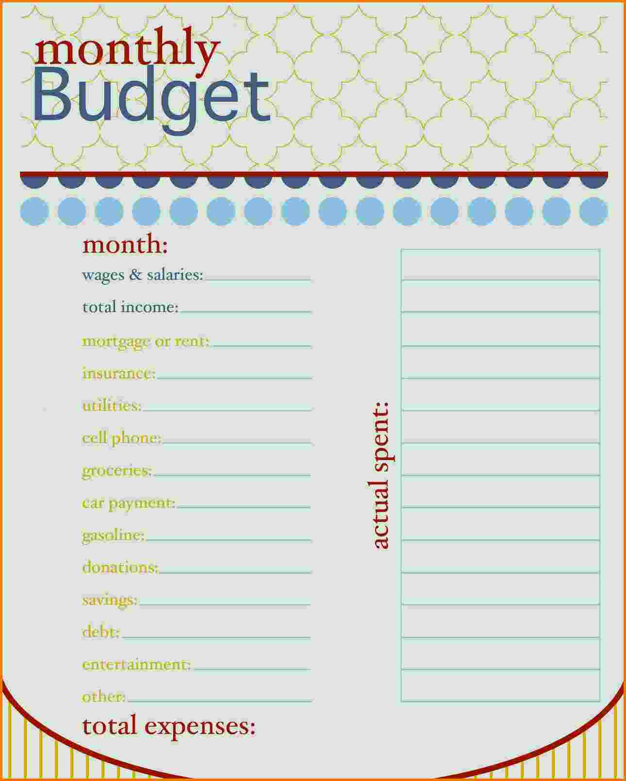 How To Organize Your Finances Spreadsheet
