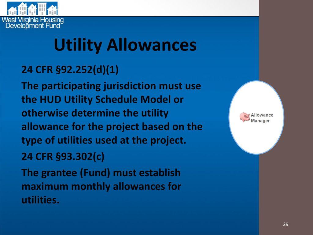 Hud Utility Allowance Spreadsheet Within Home Htf Updates