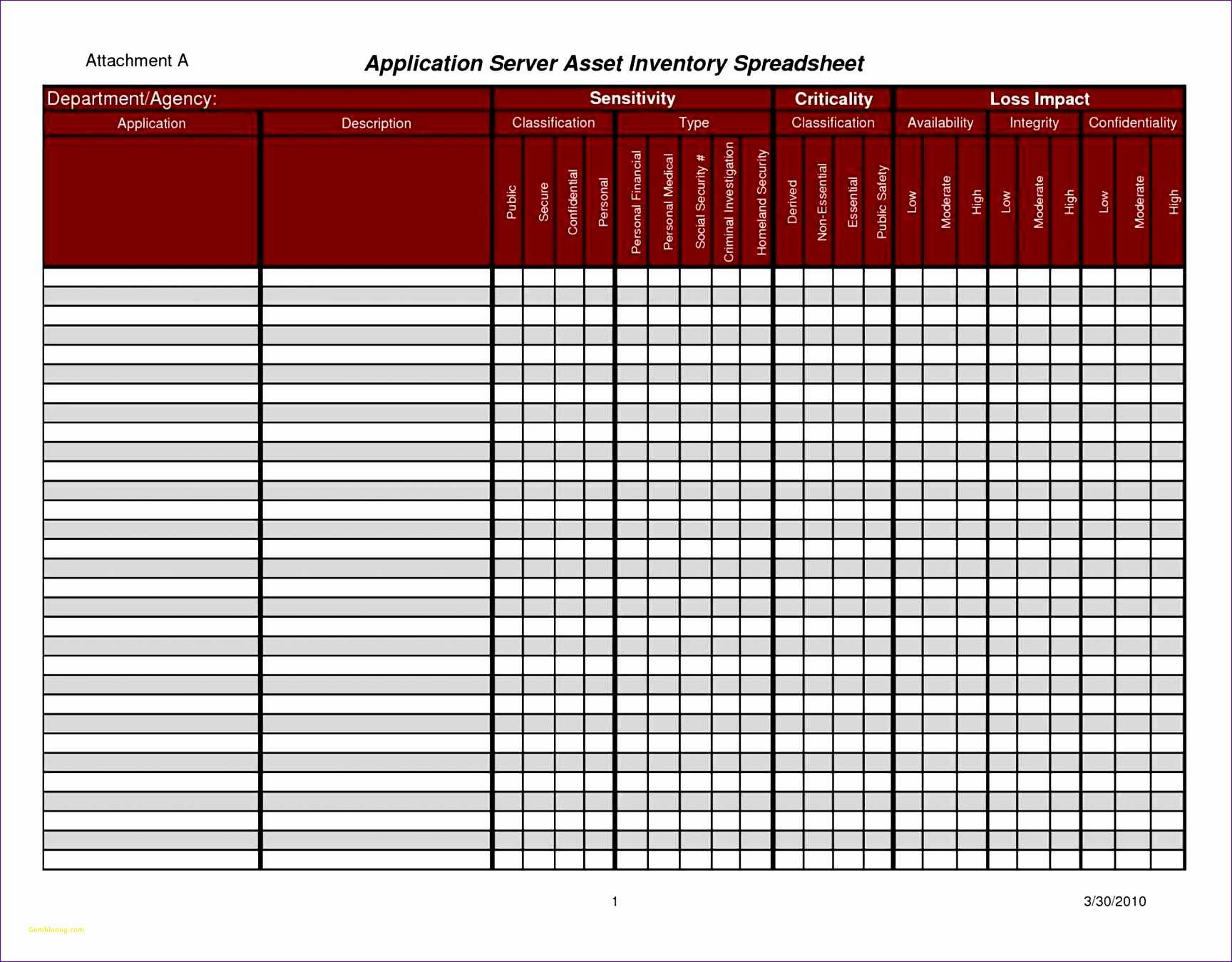 Inventory Management Spreadsheet Template With Regard To