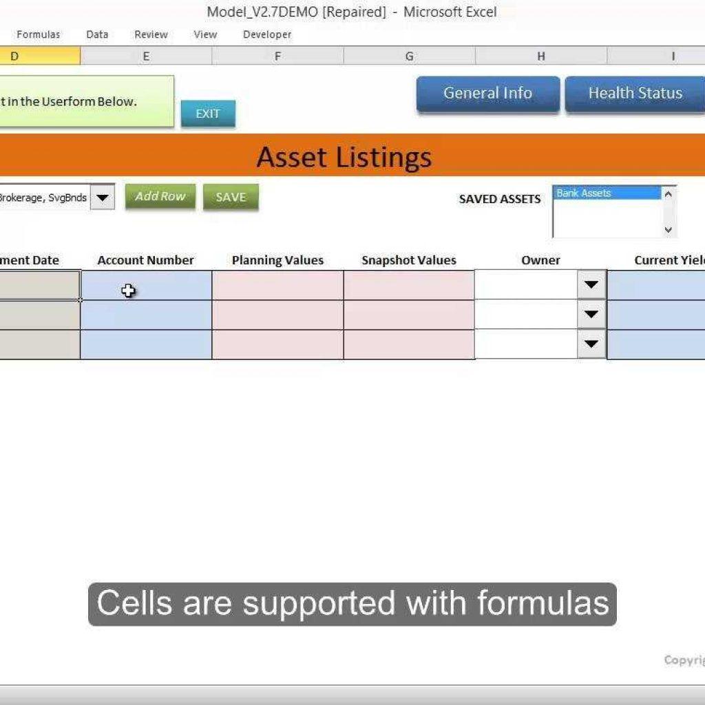 It Asset Tracking Spreadsheet Spreadsheet Downloa It Asset