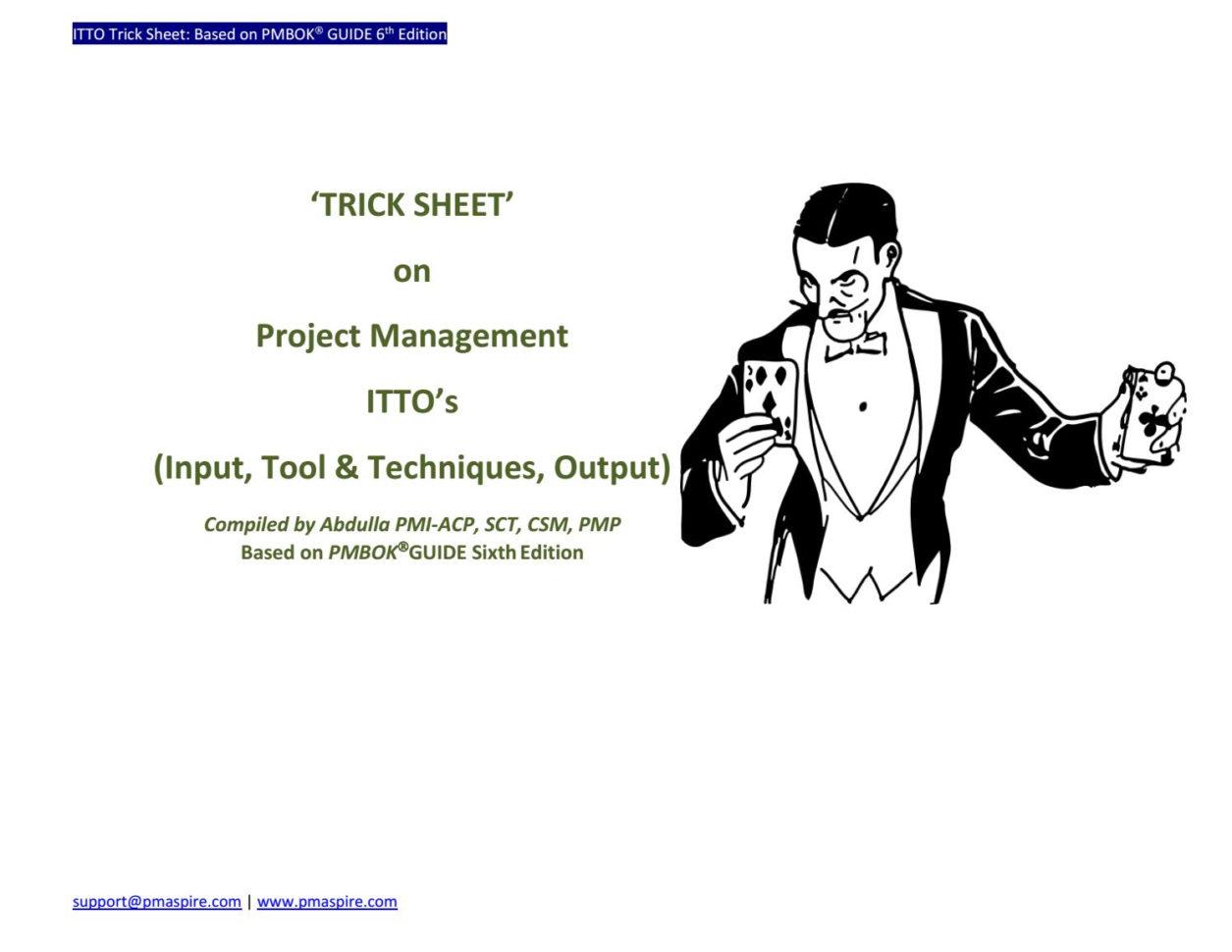 Itto Spreadsheet 6Th Edition 2 Printable Spreadshee itto