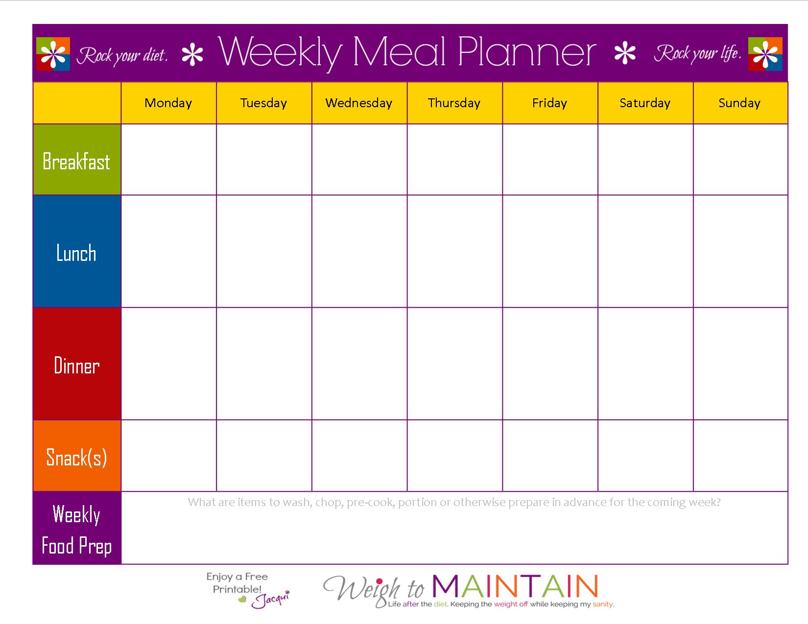 Keto Meal Plan Spreadsheet