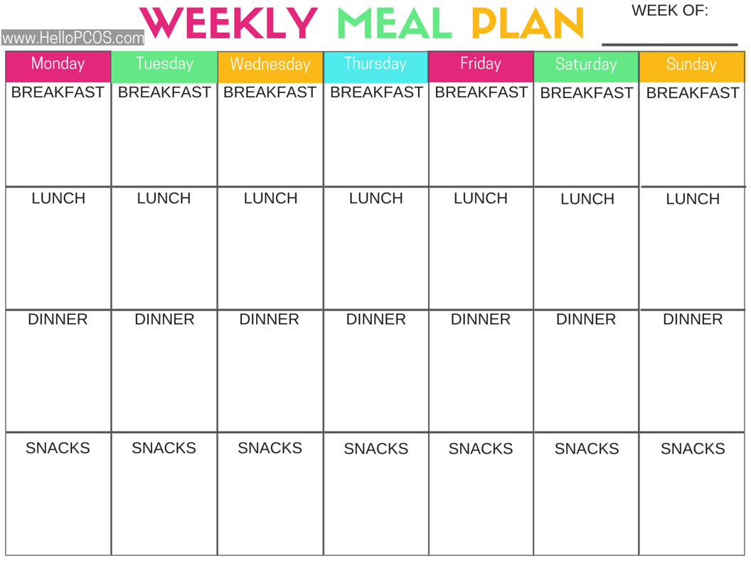 Keto Meal Plan Spreadsheet Within Pcost And Nutrition