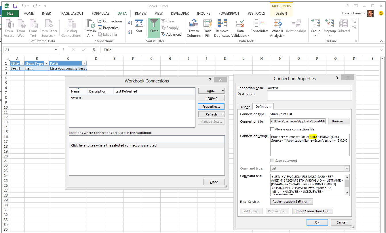 Linking Excel Spreadsheets In Sharepoint Throughout