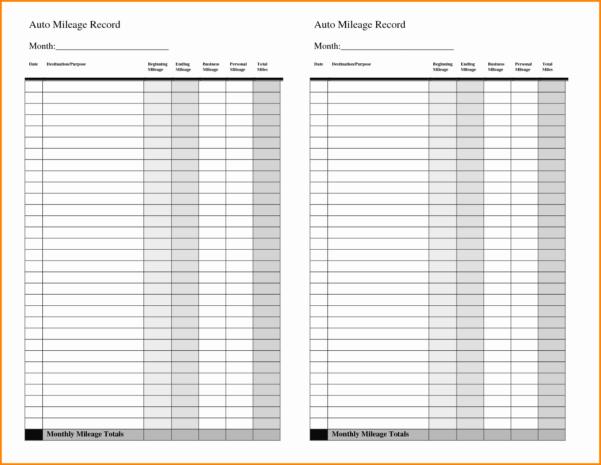 Mileage Spreadsheet Google Spreadshee mileage spreadsheet