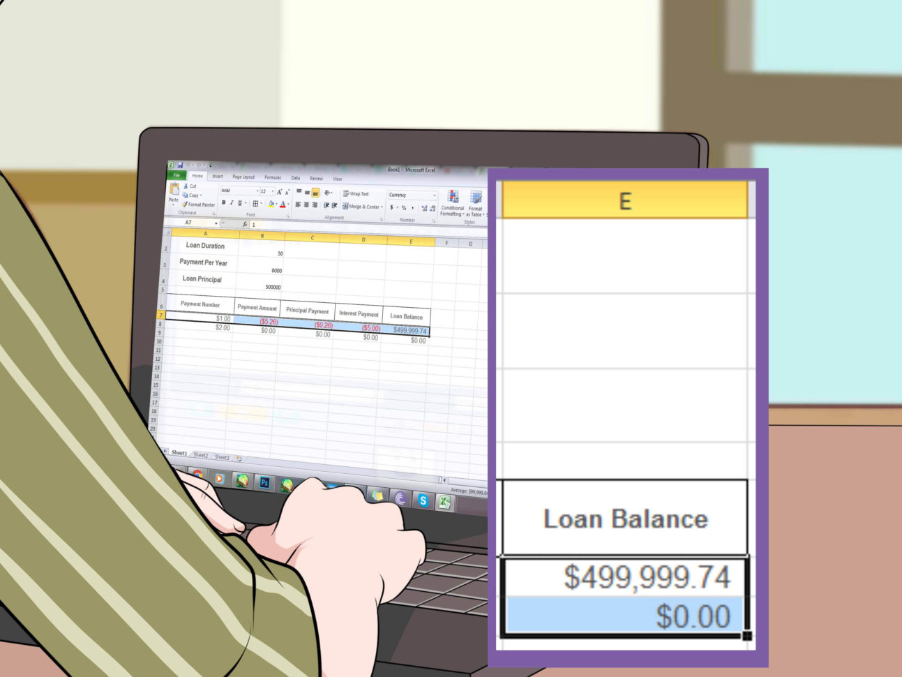 Mortgage Accelerator Spreadsheet In How To Calculate