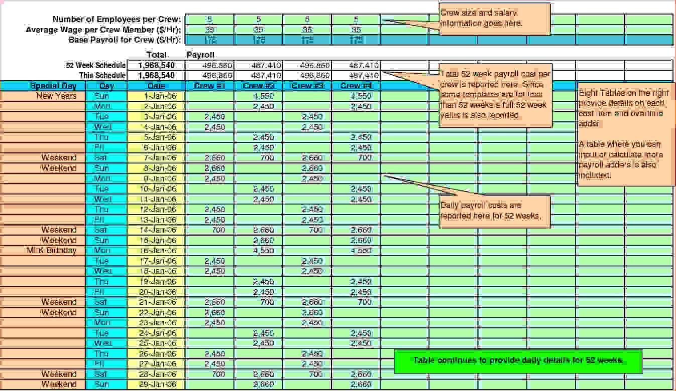 Payroll Calculator Spreadsheet With Pay Stub Spreadsheet
